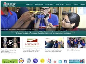 Harmony Schools Website Preview